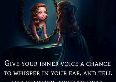 Give your inner voice a chance