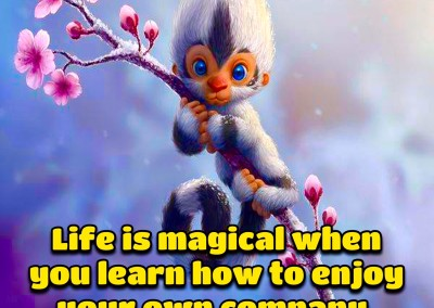 Life is magical when