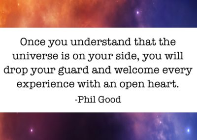 Once you understand that the universe