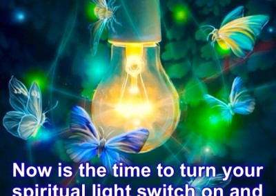 Spiritual light switch