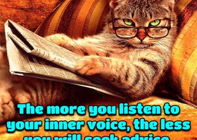 The more you listen