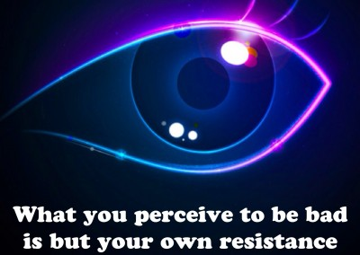 What you perceive