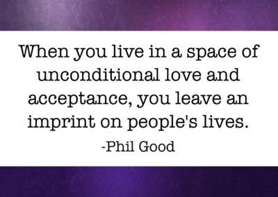 When you live in a space