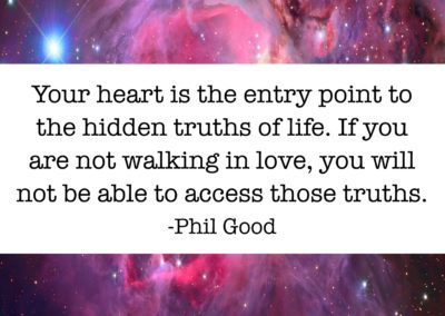 Your heart is the entry